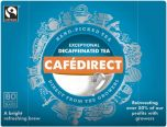 Cafédirect Fair Trade Hand-Picked Decaffeinated Tea 250g (80's) x6