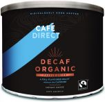 Cafédirect Fair Trade & Organic Decaffeinated Freeze Dried Instant Coffee (Catering) 500g x6