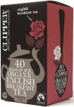 Clipper Fair Trade & Organic English Breakfast Tea Bags 125g (40's) x6