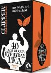 Clipper Fair Trade Everyday Tea Bags 125g (40's) x6