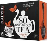 Clipper Fair Trade Everyday Tea Bags 250g (80's) x6