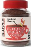 Clipper Fair Trade & Organic Everyday Rich Roast Instant Coffee 100g x6