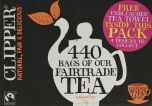 Clipper Fair Trade Everyday Tea Bags 1kg (440's) x1