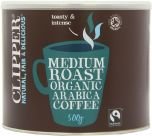 Clipper Fair Trade & Organic Medium Instant Freeze Dried Coffee 500g x4