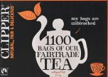 Clipper Fair Trade Everyday One Cup Tea Bags 2.5kg (1100's) x1