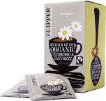 Clipper Fair Trade & Organic Chamomile Infusion String, Tagged and Enveloped Tea Bags 37.5g (25's) x6