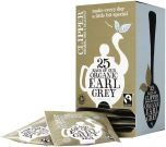 Clipper Fair Trade & Organic Earl Grey String, Tagged and Enveloped Tea Bags 50g (25's) x6