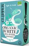 Clipper Organic White Tea with Peppermint Tea Bags 45g (26's) x6