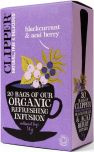 Clipper Organic Blackcurrant and Acai Berry Infusion Tea Bags 50g (20's) x6