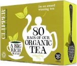 Clipper Organic Everyday Tea Bags 250g (80's) x6