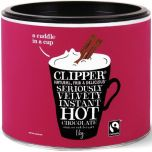 Clipper Fair Trade Seriously Velvety Instant Hot Chocolate 1kg x4