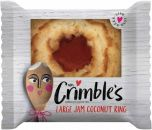 Mrs Crimble's Large Fruity Filling Jam Coconut Ring 40g x24