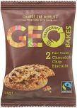 Traidcraft Geobakes Fair Trade Chocolate Chip Biscuits 34g (2's) x20