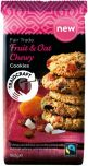 Traidcraft Fair Trade Chewy Fruit & Oat (Sultanas, Coconut and Apricots) Cookies 180g x8