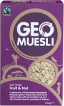 Traidcraft Fair Trade Fruit and Nut GeoMuesli 750g x5