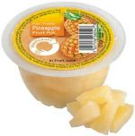 Traidcraft Fair Trade Pineapple Fruit Pots 120g x12
