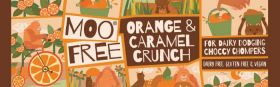 Moo Free Grab and Go Orange Crunch Bars 35g x25