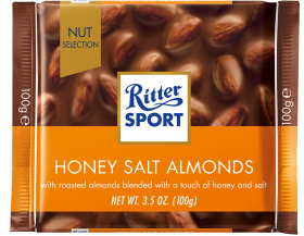 Ritter SPORT Honey Salted Almond 100g