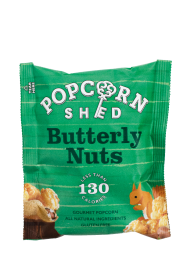 Popcorn Shed Butterly Nuts Snack Pack 26g x16