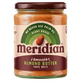 Meridian Smooth Almond Butter 100% 6 x 470g