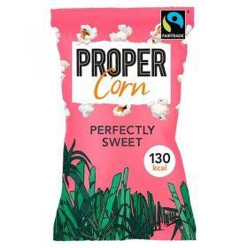 Propercorn Fair Trade Perfectly Sweet Popcorn 27g x24