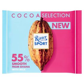 Ritter SPORT 55% Cocoa Smooth from Ghana