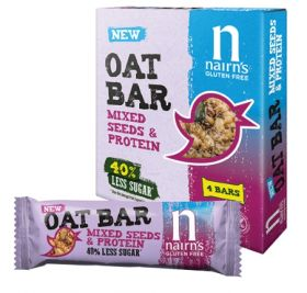 Nairn's Seeded Protein Oat Bars 12 x 4*40g