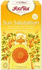 Yogi Tea Sun Salutation Organic 17 bags  x6