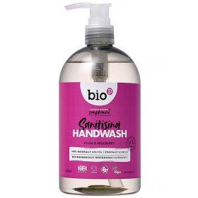 Bio-D Hand Wash Plum and Mulberry 6 x 500 ml