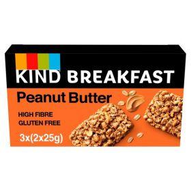 KIND Breakfast Peanut Butter 12x50g