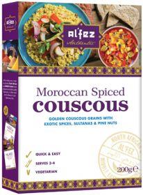 Al'Fez Moroccan Spiced Couscous 200g x12