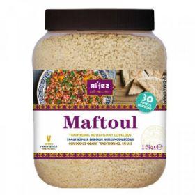 Al'Fez Maftoul Traditional Rolled Couscous 1.5kg Jar x3