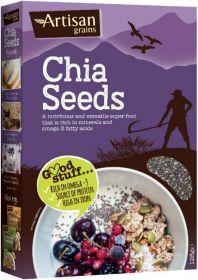 Artisan Grains Chia Seeds 125g x6