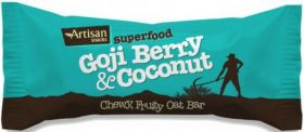 Artisan Snacks Chia Seed and Blueberry Superfood Bar 16x45g