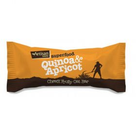Artisan Snacks Quinoa & Apricot Superfood Bar 16x 45g