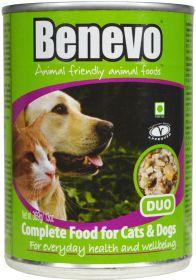 Benevo Duo - Cat & Dog Food - Tinned - 12 x 369g