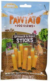 Benevo Pawtato Spinach & Kale Chews 120g x12