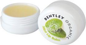 Bentley Organic Mint Lip Balm 10g x18