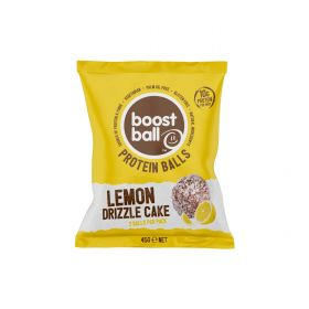 Boostball Lemon Drizzle Cake Protein Balls 42g x12