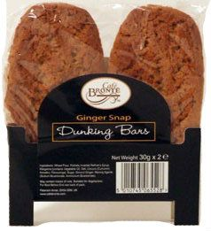 Bronte Cafe Ginger Snap Dunkers 30g - 2x24