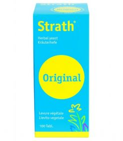Bio-Strath Herbal Yeast Tablets 100 Tablets x12