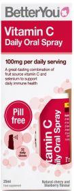 Better You Vitamin C Daily Oral Spray 25ml x6