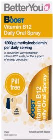 Better You Boost B12 Daily Daily Oral Spray 25ml x6