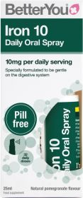 Better You Iron 10 Daily Oral Spray 25ml x6