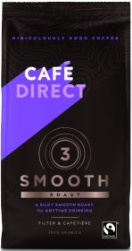 Cafédirect Fair Trade Smooth Roast Ground Coffee 227g x6
