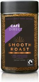 Cafédirect Fair Trade Smooth Roast Freeze Dried Instant Coffee 100g x6