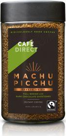 Cafédirect Fair Trade Machu Picchu (Peru) Freeze Dried Instant Coffee 100g x6