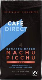 Cafédirect Fair Trade Machu Picchu (Peru) Decaffeinated Roast Ground Coffee 227g x6