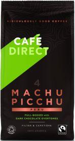 Cafédirect Fair Trade & Organic Machu Picchu (Peru) Roast Ground Coffee 227g x6