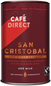 Cafédirect Fair Trade San Cristobal Drinking Chocolate 250g x6
